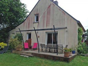 Extension de maison terrasse Saint Solen 22100
