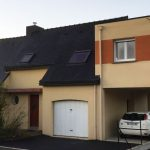extension maison carport etage 35360