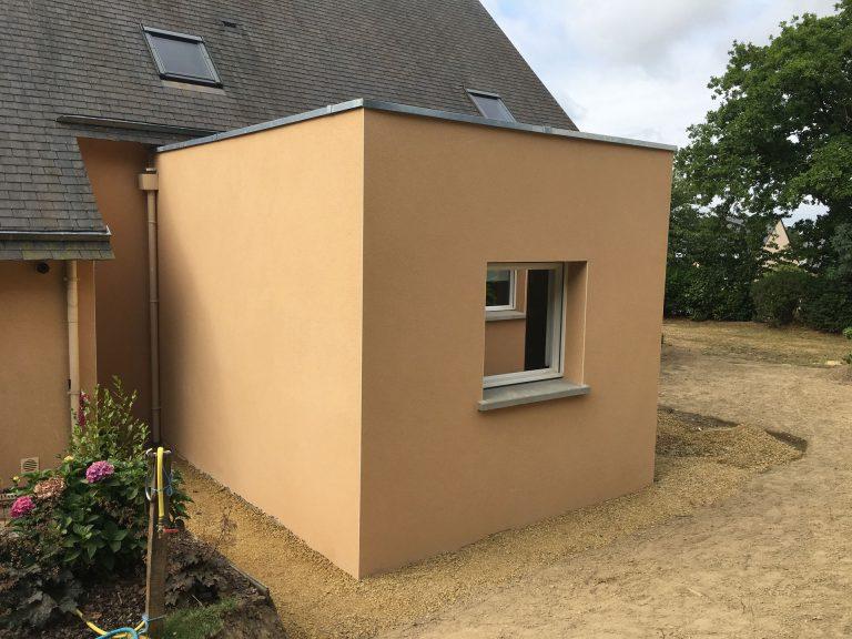 Extension maison suite parentale 35890 par cybel extension for Financement extension maison