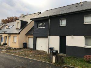 Extension maison surelevation mouaze 35250