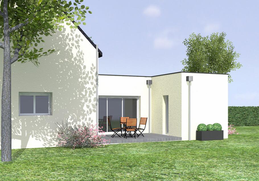 extension maison golfe du morbihan cybel extension vannes. Black Bedroom Furniture Sets. Home Design Ideas