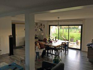 extension maison baie vitrée corquilleroy 45120