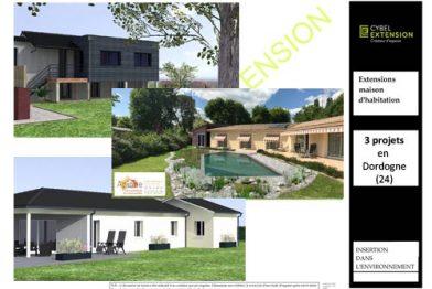 Extension de maison en Dordogne (24)