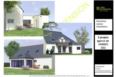 Extension maison près de Vannesdans le Morbihan (56)