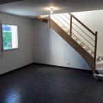 extension maison étage escalier