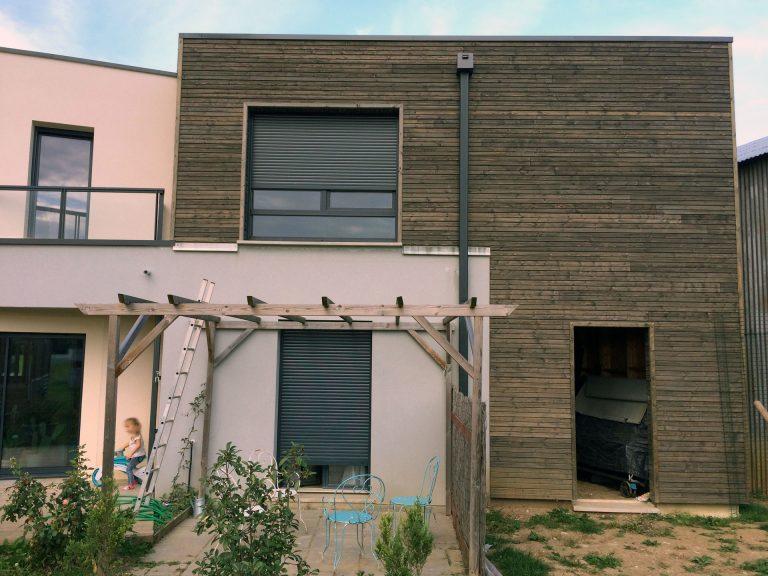 Extension de maison ossature bois by cybel extension montargis for Financement extension maison