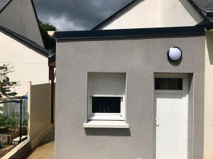 Extension de maison après travaux (35890)