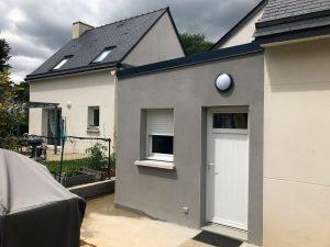 Extension de maison pour une buanderie (35890)