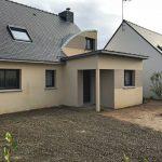 Extension de maison couverture zinc (35140