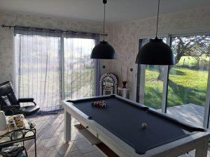 Aménagent extension de maison pour une salle de billard à Pressigny-les-Pins (45290)