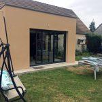 Extension de maison toit plat (45700)