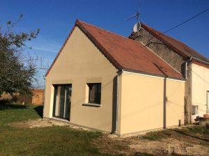 Extension de maison salon-jeux-billard et chambre-dressing à Pressigny-les-Pins (45290)