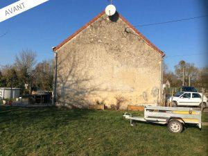 Projet d'extension cuisine d'une maison traditionnelle à Pressigny-les-Pins (45290)