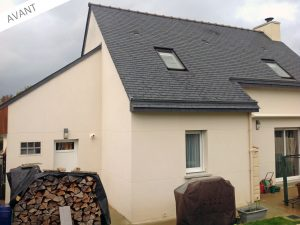 Projet d'extension de maison avant travaux (35890)