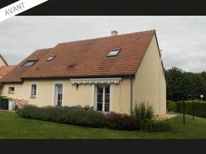 Projet d'extension salon d'une maison traditionnelle près de Chartres (28000)