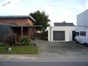 3D plan extension garage 35131