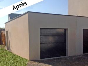 Extension de garage à Pont-Péan (35131)