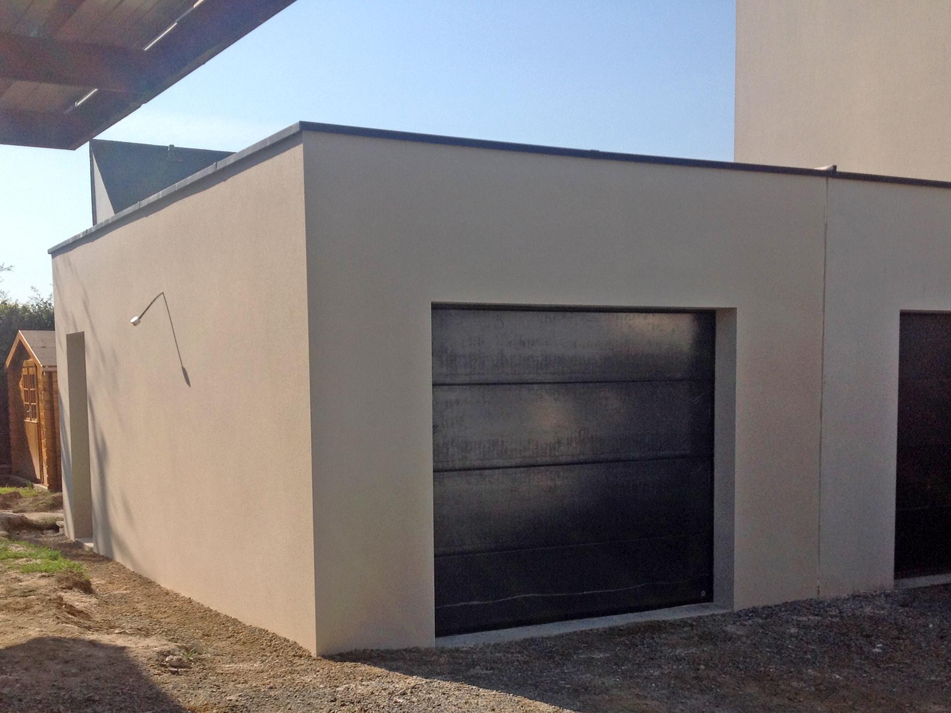 realisation garage cybel extension rennes sud janze