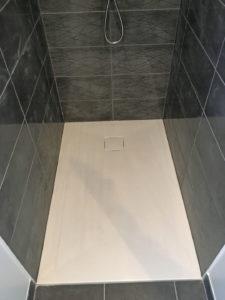 douche receveur plain pied extension maison 50110