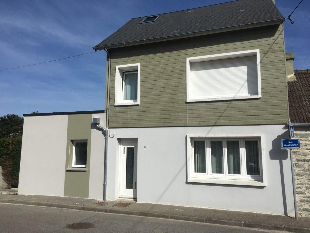 extension maison d 39 une suite parentale cherbourg en cotentin 50110. Black Bedroom Furniture Sets. Home Design Ideas