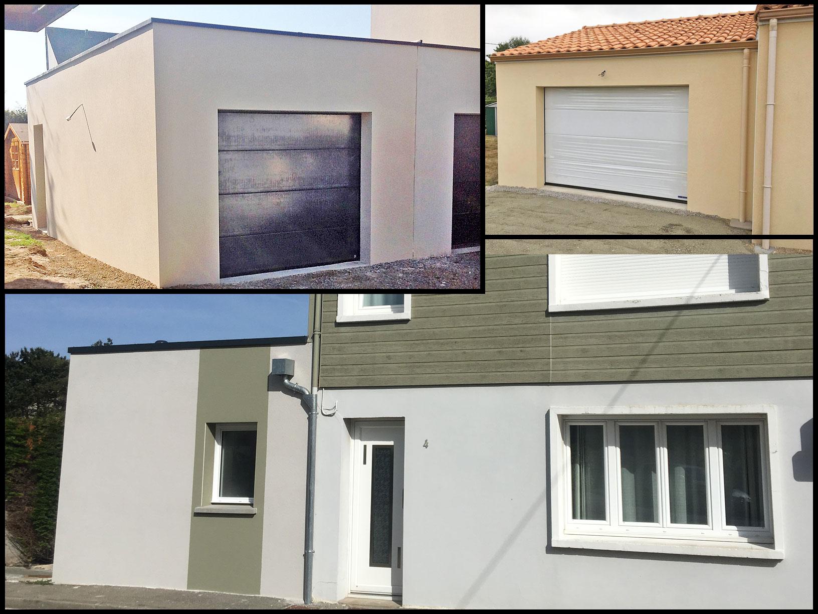 Réalisation d'agrandissements de maison et garage par Cybel Extension