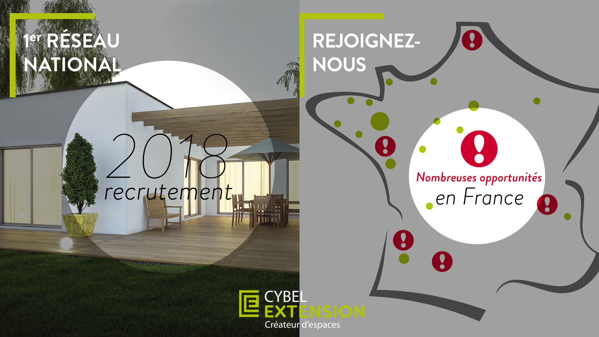 recrutement franchise cybel extension