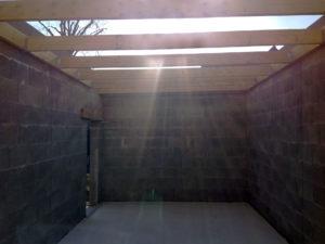 toiture extension garage 35131