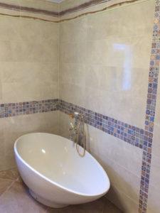 baignoire ilot extension maison 45200