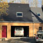Extension garage à Pléslin-Trigavou (22490)