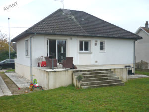 projet agrandissement maison amilly 45200