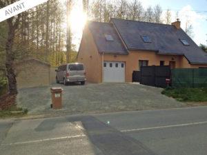projet agrandissement maison garage pleslin-trivagou 22490