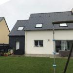 projet extension maison pilotis mouazé 35250