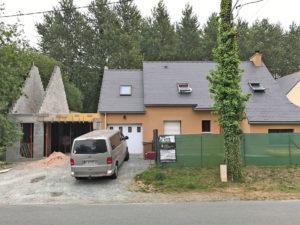 travaux construction garage pleslin-trivagou 22490