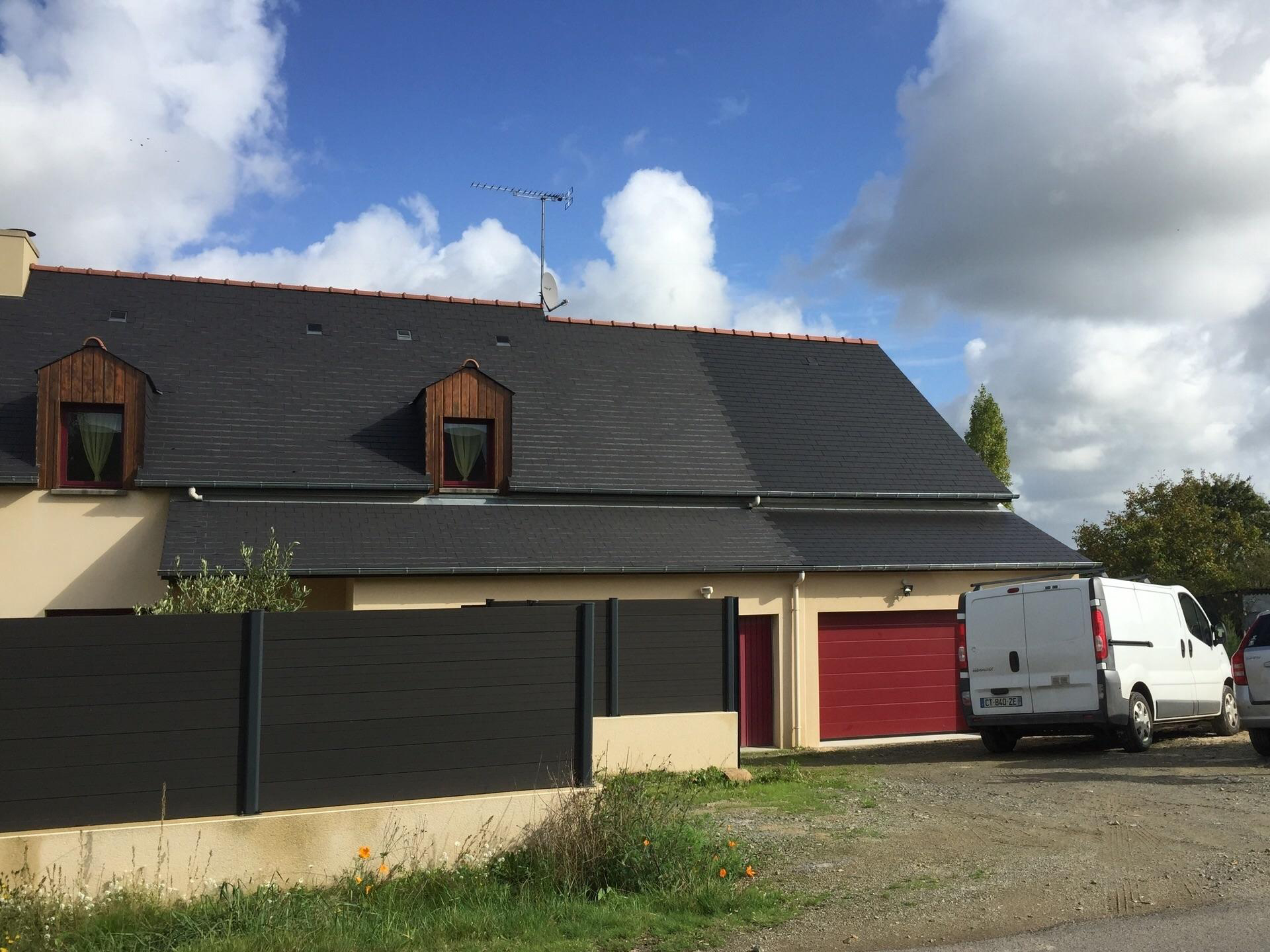 Extension garage en zone b timent de france champeaux for Recours architecte extension garage