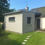 Extension de maison avec préau à saint-nazaire (44600)