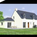 plan agrandissement maison salon Iffendic 35750