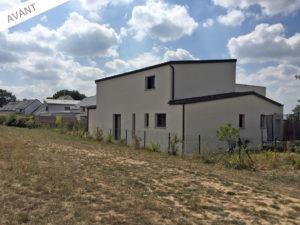 projet extension salon séjour 35520