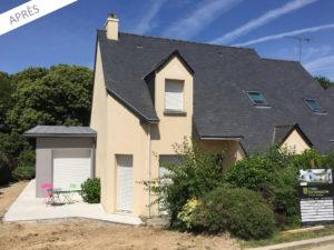extension maison rue 35500