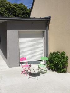 extension maison façade avant 35500