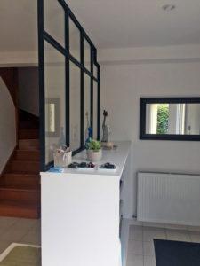 rénovation séjour suite à l'extension de salon 35500