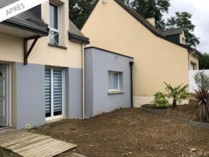 realisation agrandissement Châteauneuf d'Ille-et-Vilaine (35430)