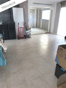 travaux agrandissement maison 35430