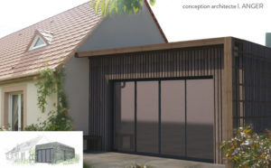 conception agrandissement maison architecte cybel extension
