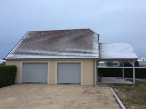 extension garage terrasse auvent 45700
