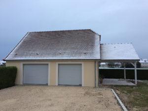 extension garage terrasse auvent 45700