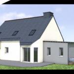 plan 3D extension salon 35360