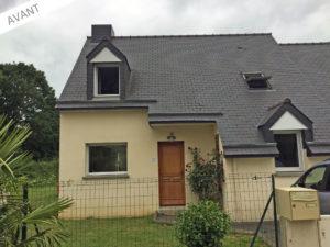 projet extension maison salon 35360
