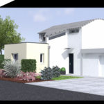 plan 3d projet extension suite parentale 35000