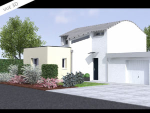 plan 3d projet extension suite parentale 35000