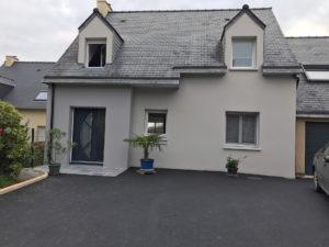 Extension de maison entrée après les travaux (35250)